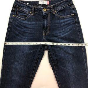CAbi Jeans - CAbi #3386 high straight dark wash jeans sz 6